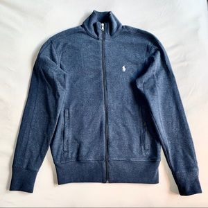 Ralph Lauren Sport Zip Up Navy Sweater